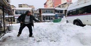 Hizan'da kar yağışı ve tipi