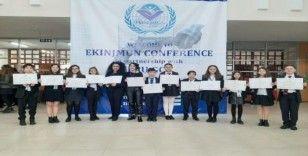 Uluslararası konferansta Samsunlu öğrenciye ödül