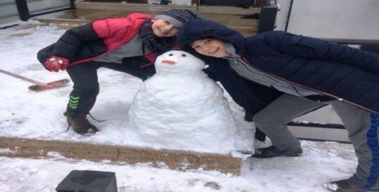 Fatsa'nın kardan adamları