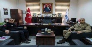 Alay Komutanı Dedebağ'dan AFAD'a ziyaret