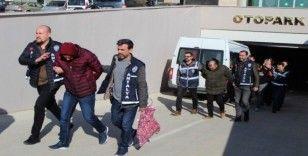 Arkadaştan gelen milyonluk hırsızlığa 5 tutuklama