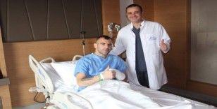 Parmağı kırılan Petar Skuletic, ameliyat oldu
