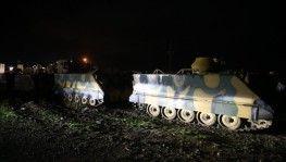 TSK'ya ait 300 askeri araç, İdlib'e girdi