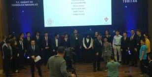 Samsunlu lise öğrencisi TÜBİTAK Bilim Oyunları'nda gümüş madalya kazandı