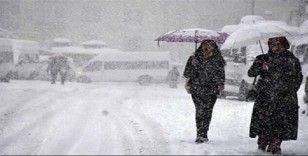 Meteorolojiden yoğun kar, kuvvetli rüzgar ve çığ uyarısı