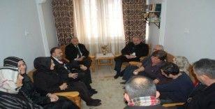 TBMM Başkanı Şentop'tan Zehra'nın ailesine ziyaret