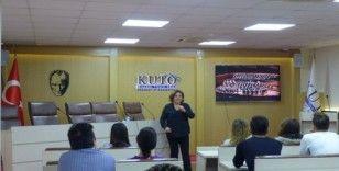 KUTO'da eğitimler devam ediyor