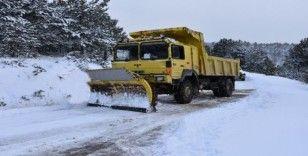Karabük'te 195 köy yolu ulaşıma kapandı