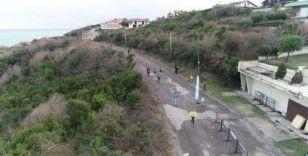 Türkiye'nin en güzel manzarasına sahip koşusu Riva'da başladı