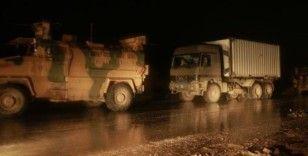TSK'ya ait 200 askeri araç İdlib'e girdi