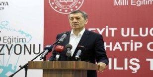 Bakan Selçuk: 'Eğitim çocuklarımızın ve Türkiye'nin geleceği için en büyük vasıta'