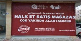 Halk Et'in 3. Satış mağazası Alanya'da açılıyor