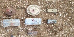 MSB: 'Barış Pınarı Bölgesinde 5 adet el yapımı anti personel mayın ve 2 adet el yapımı anti tank mayını tespit edilerek imha edildi'