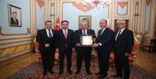 Yeni Bir Hayat Yeni Bir Nefes Derneği'nden Meclis Başkanı Şentop'a ziyaret