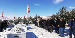 Zeytin Dalı Harekatı şehidi mezarı başında anıldı