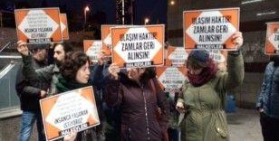 İstanbul'da toplu taşımaya yapılan zam protesto edildi