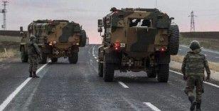 100 araçlık askeri konvoy Şanlıurfa'ya ulaştı
