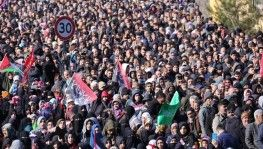 Diyarbakır'da 'Kudüs bizimdir' mitingi
