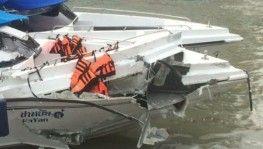 Phuket Adası'nda sürat tekneleri çarpıştı