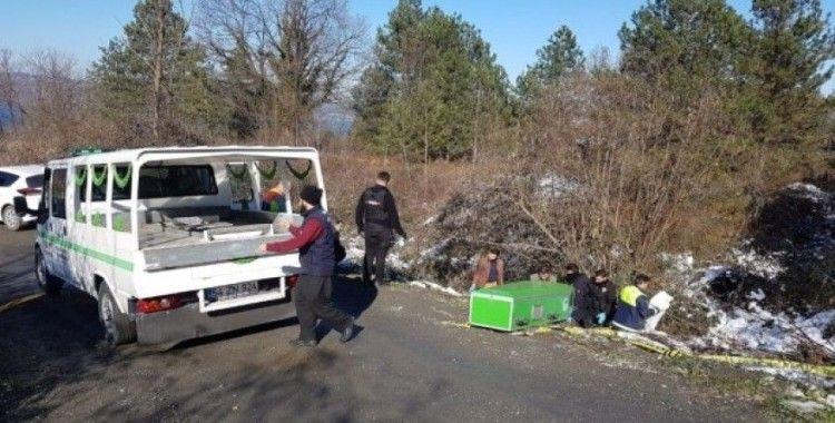 Sapanca'da başından vurulmuş erkek cesedi bulundu
