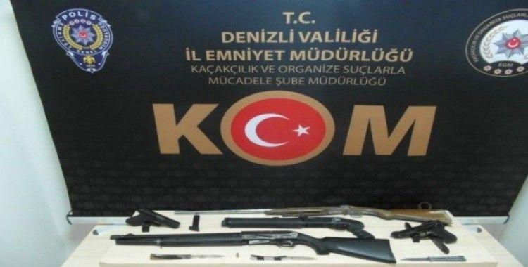 Silah kaçakçılığı yapan 2 kişi tutuklandı