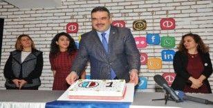 Anadolu Üniversitesi sosyal medya birinciliğini kutladı