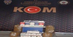 Kırıkkale'de tütün kaçakçılığı operasyonu