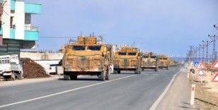 Ceylanpınar'dan Şanlıurfa'ya 100 araçlık askeri konvoy
