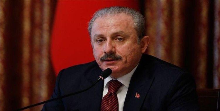 TBMM Başkanı Şentop: Türkiye barış için kararlı duruşunu sürdürecektir