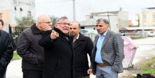"""Başkan Akay'dan 5 mahallede """"hizmet"""" denetimi"""