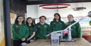 Robotik yarışmasında gururlandıran başarı