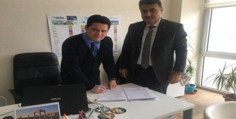 Bu sözleşme ile Buharkent'te öğrenciler teknoloji çağına ayak uyduracak
