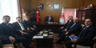 Başkan Kocaman'dan Ankara temasları