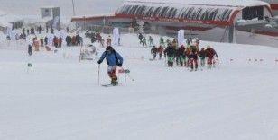 Uluslararası dağ kayağı şampiyonası Erciyes'te gerçekleştirildi