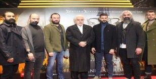 """Beyoğlu'na özel """"Türkler Geliyor: Adaletin Kılıcı"""" filmi gösterimine yoğun ilgi"""