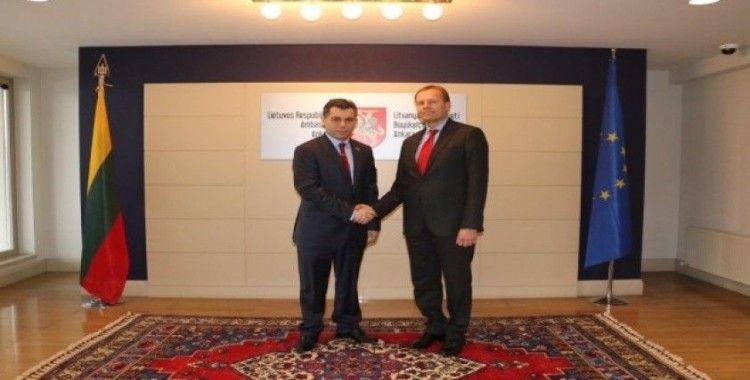 SANKON'dan Litvanya Büyükelçiliği'ne ziyaret