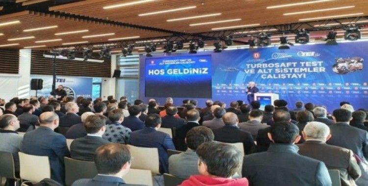Erciyes Teknopark'ın desteklediği 'Turboşaft Test ve Alt Sistemler Çalıştayı', Eskişehir'de düzenlendi