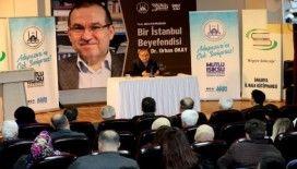 İl Halk kütüphanesinde Prof. Dr. Orhan Okay konuşuldu