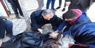 Yaralılara ilk müdahaleyi belediye başkanı yaptı