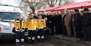Seki 112 Acil Sağlık Hizmetleri İstasyonu törenle hizmete açıldı