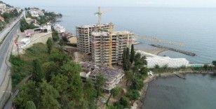 Cumhurbaşkanı'nın sorduğu Ordu'daki bina için yıkım kararı verildi