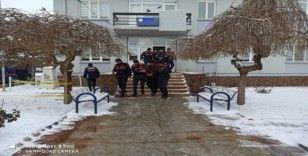 Kayseri merkezli 8 ilde organize suç örgütü operasyonu