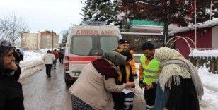Trabzon'da elektrik trafosu patladı, mahalleli sokağa döküldü