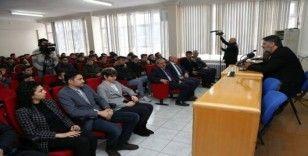 KBÜ Rektörü Polat, lise öğrencilerinin sorularını yanıtladı