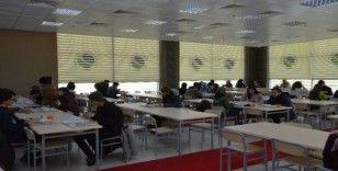 KAEÜ'de öğrenciler için yeni yemekhane açıldı