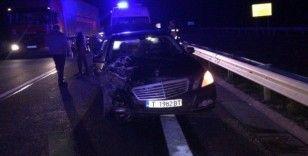 Kırklareli'de iki araç çarpıştı: 5 yaralı