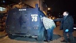 İstanbul'da Narkotik ekipleri, şafak vakti operasyon gerçekleştirdi