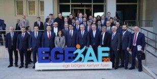 Rektör Uysal, 'EGEKAF 2020' tanıtım toplantısına katıldı