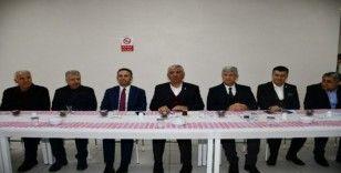 ATSO Yönetimi, Kahta OSB'de sanayicilerle bir araya geldi
