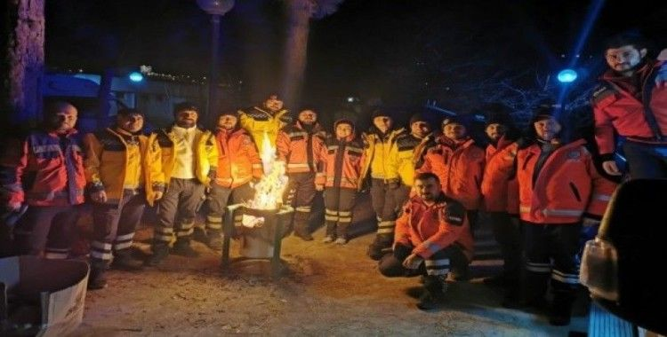 Samsun sağlık ekibi Elazığ'dan döndü